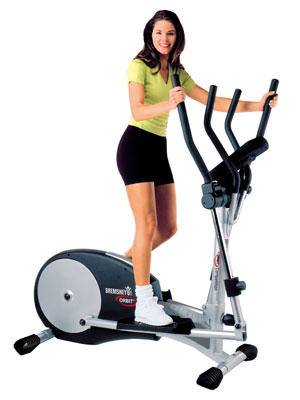 Could you use the crosstrainer with a messed up back but strong gluts and quads?