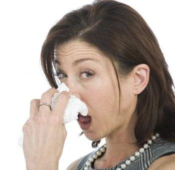 Is there any way to naturally treat my runny nose?