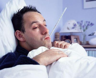 What could cause chills without fever, body aches and shortness of breath?