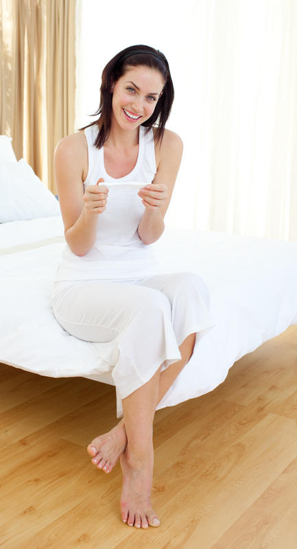 I'm having implantation bleeding when should I take a pregnancy test?