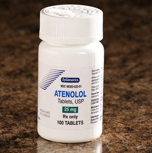 What are the chances of organ damage due to overdose on atenolol. 6 tablets 100 mg?