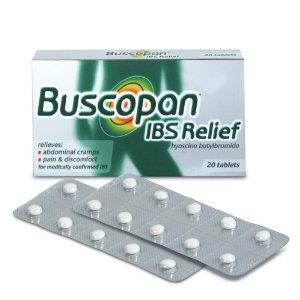 Hyoscine butylbromide and alprazolam?