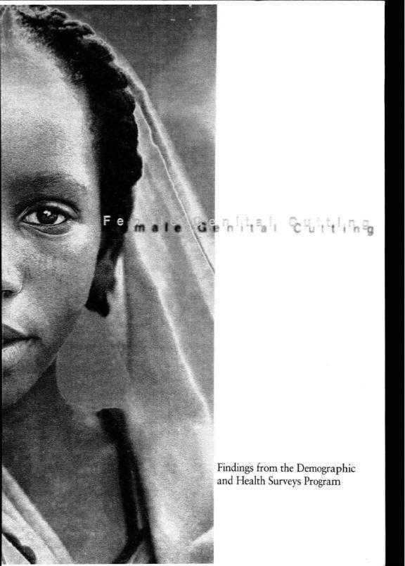 Has anybody here actually been a victim of female genital cutting?