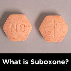 What is Suboxone used for?