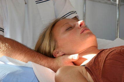 How does an osteopath influence a persons health?