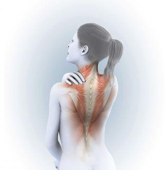 Pulled neck muscles while exercising now have pain and nausea.  How do I get well from this?