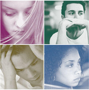 Do depressive symptoms continue during treatment?