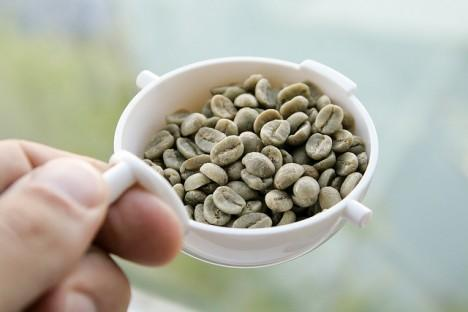 What are the side effects in green coffee?