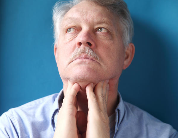 How does it feels when mucus or cold is down in your throat?