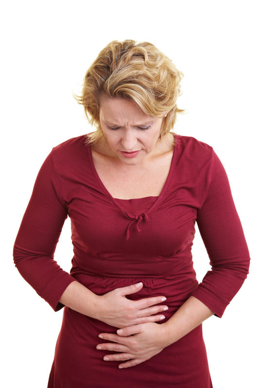 What do I do if I have extreme abdominal pain while months pregnant?