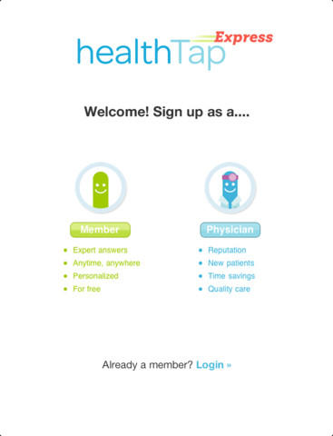 What do the numbers next to my health tap. Icon mean?