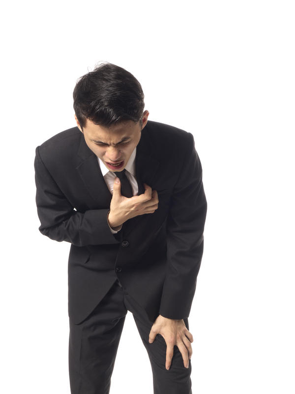 What causes chest pain and heart burn?