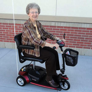 Can my mom rent a scooter on medicare?