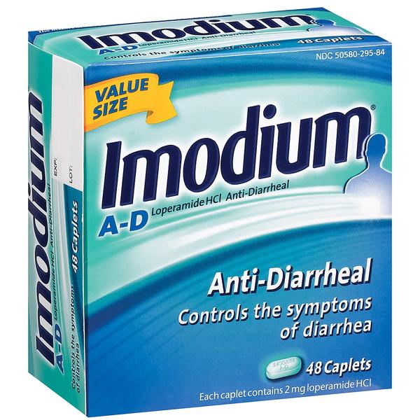 How long can I take imodium (loperamide) for.?