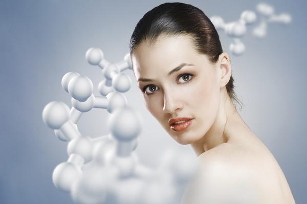 How does low estrogen affect skin wrinkling?