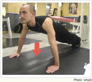 Do arms get bigger after pushups?