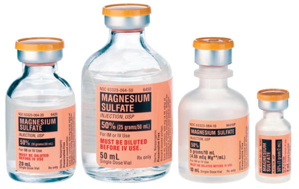 Will taking magnesium sulfate cause loose bowels?