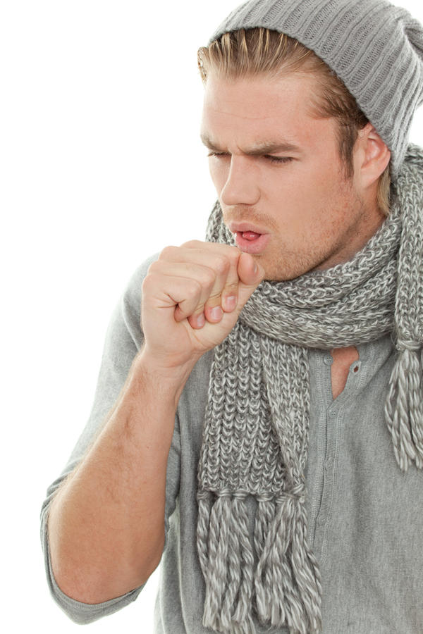 Coughing up water?