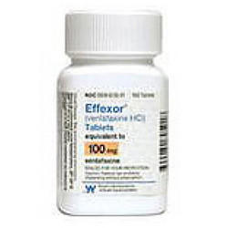 Can I experience rapid heart beat and pressure behind eyes while on Effexor (venlafaxine) xr?
