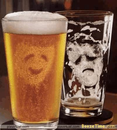 What are the effects on drinking alcohol on anti-depressants?