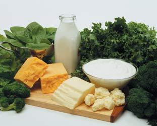 What should I eat to get a lot of calcium? I'm pregnant