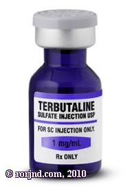 What are the effect of terbutaline on a newborn?