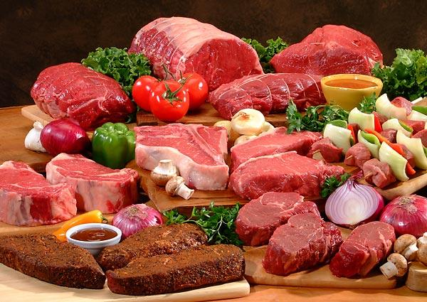 If I take big bites, can meat be causing friction in my intestines?