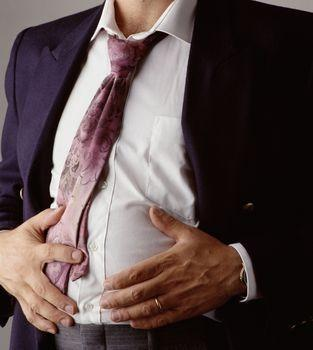 What can I do for a bloated stomach that's tender touch?