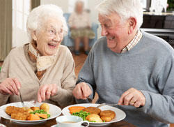 Give 3 nutritional problems that older people are at risk for?
