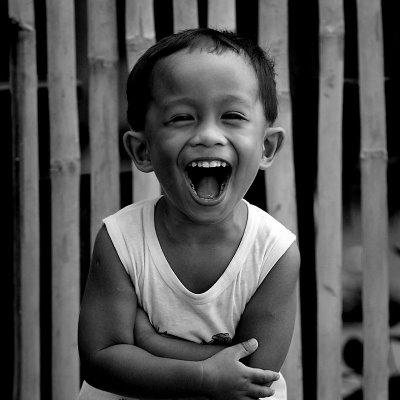 Why is laughing healthy, from a biological perspective?