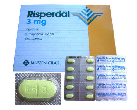 What are the symptoms of coming off risperdal?
