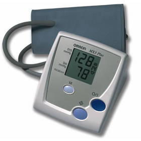 How is blood pressure recorded at home easiest?