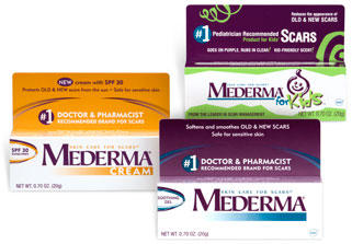 Why does Mederma flake off my face after I apply?