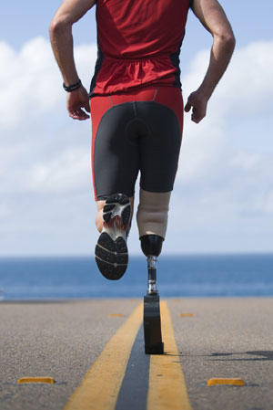 How can my aide take care of my lower limb prosthesis?