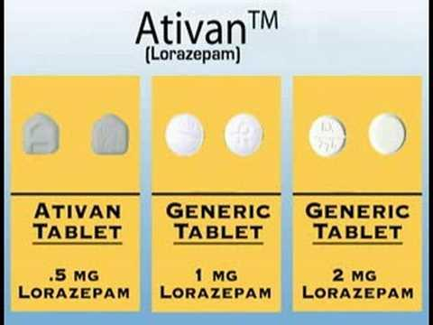 Ativan 1mg description