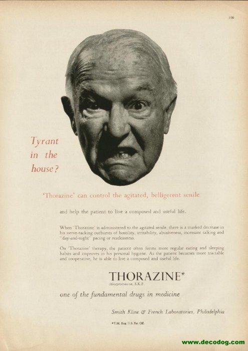 Is thorazine(chlorpromazine) an old anti-psychotic?
