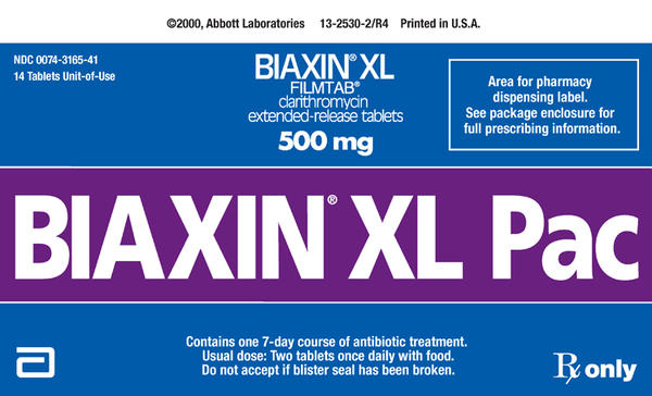 Is it safe to take expired biaxin (clarithromycin) xl?