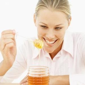 What's in honey that has a good effect to people who have insomnia?