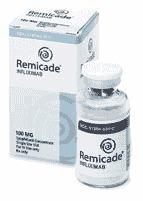 What is remicade (infliximab) for?