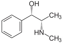 What's the difference between ephedrine (ephedrine sulfate) and pseudoephedrine (ephedrine sulfate)?