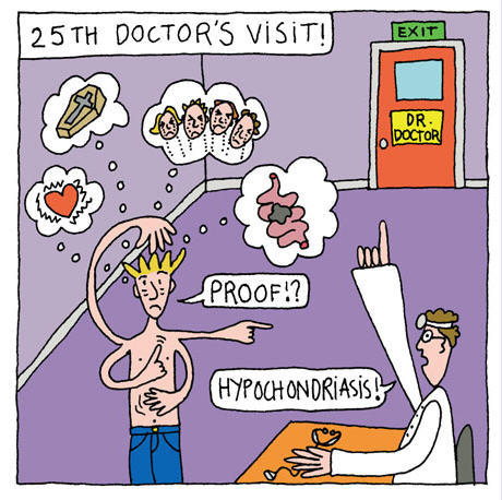 How can I tell if I have hypochondria?