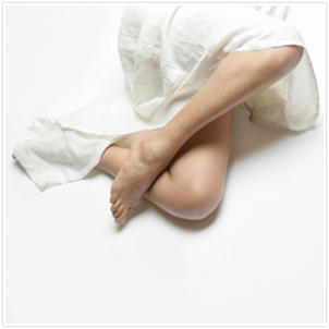 Does restless leg syndrome cause people to build more muscle in their legs?