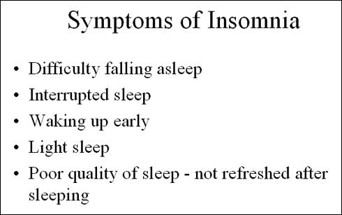 What can treat insomnia?