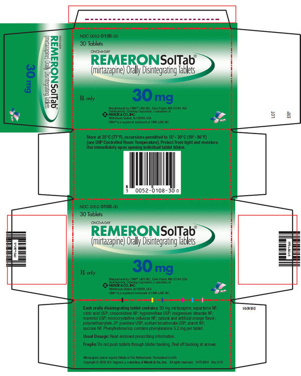 How soon will I feel the effects from remeron (mirtazapine)?