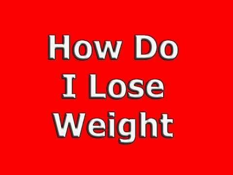 What can do and take to loose weight.