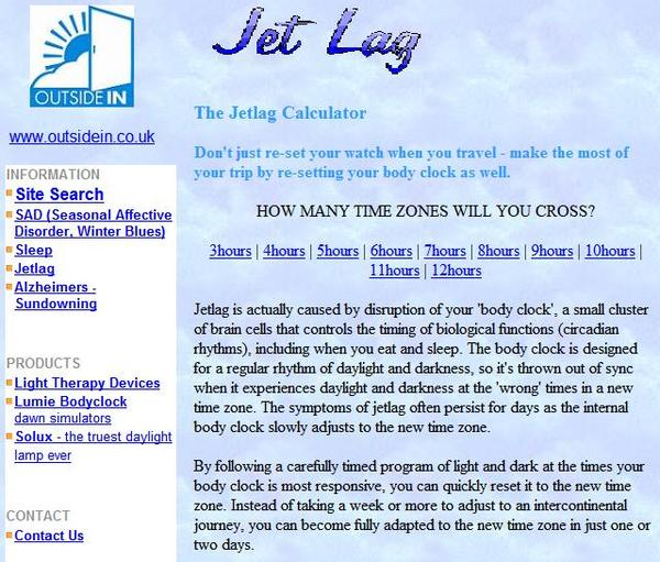 How can I get over my jet lag quickly?