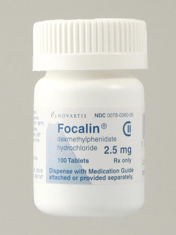 How old is focalin?