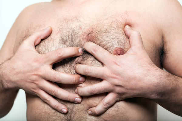 How can I tell the difference between gynecomastia and chest fat?