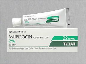 Mupirocin side effects?