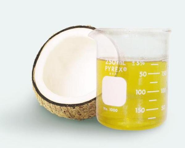 Can virgin coconut oil be used for skin asthma in the neck and mouth?